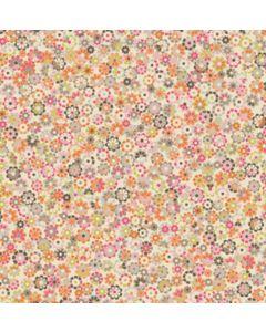 Stof katoen 50 x 55 cm hope chest pink