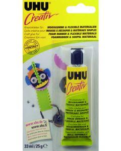 UHU lijm voor foamrubber en soepel materialen 25 g