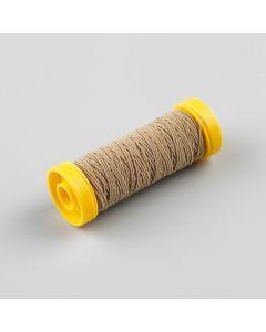Elastisch naaigaren 0,5 mm 20 m zandkleur