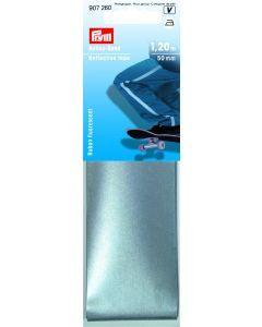 Reflecterende band 50 mm opstrijkbaar 1,20 m