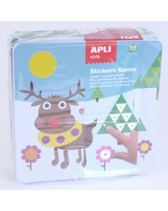 Apli Kids knutselset stickers Winter 3+