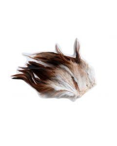 Pluim chinchilla op draad ca. 50 stuks natuur