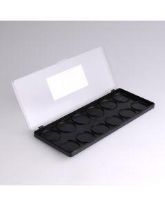 Diamond FX leeg palet voor 12 refills van 10 g