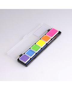Diamond FX verf palet 6 kleuren neon