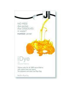 iDye textielverf voor natuurlijke stof fel oranje