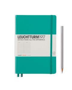Leuchtturm1917 notitieboek medium A5 gelijnd emerald