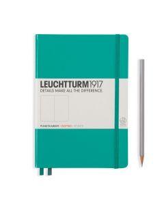 Leuchtturm1917 notitieboek medium A5 gestippeld emerald