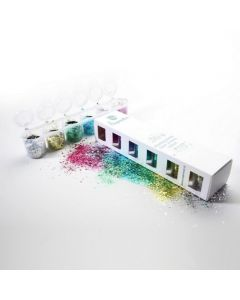 Superstar bioafbreekbare chunky glittermix 6 x 15 ml