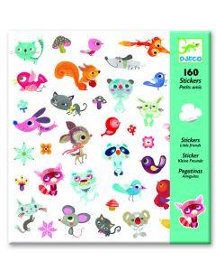 Djeco stickers Kleine vriendjes 160 stuks
