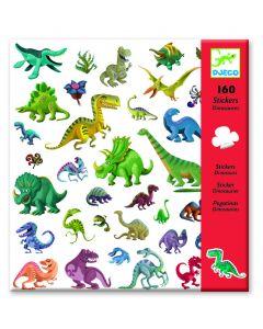 Djeco stickers Dino's 160 stuks