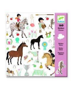 Djeco stickers Paarden 160 stuks