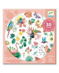 Djeco stickers 30 stuks Paradise