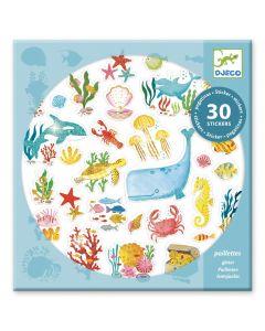 Djeco stickers 30 stuks Aqua Dream