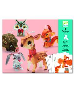 Djeco papieren speelgoed Het mooie bos 7-13 jaar