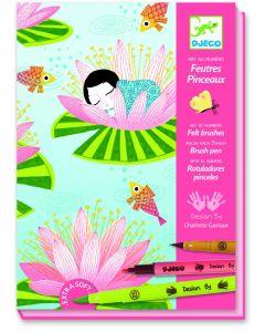 Djeco kleuren op nummer Waterlelies 7-13 jaar
