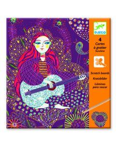 Djeco kraskaarten Sunshine 7-13 jaar