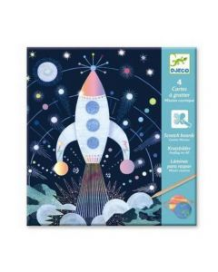 Djeco krasset Cosmic Mission 6-11 jaar