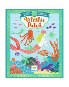 Djeco Artistic Patch glitter Oceaan 6-10 jaar