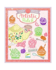 Djeco Artistic Patch glitter Sweet 6-10 jaar