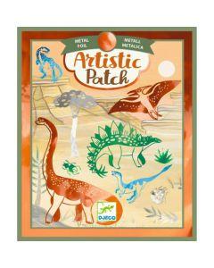Djeco Artistic Patch metallic Dino's 6-10 jaar