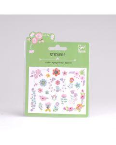 Djeco stickers glitter 22 stuks Kleine bloemen