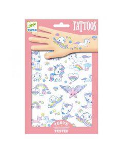 Djeco tattoos Unicorns +3 jaar