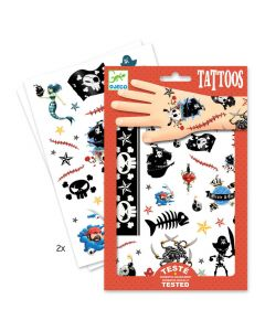 Djeco tattoos Pirates +3 jaar