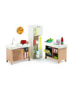 Keuken voor poppenhuis