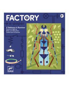 Djeco Factory e-paper Insectarium 8+