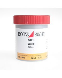 Botz engobe 900° - 1100° 200 ml wit