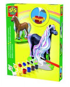Ses figuren gieten paard