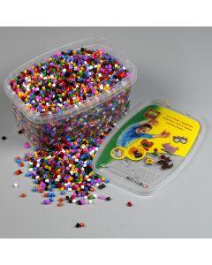 Ses strijkkralen mix kleuren 12000 stuks