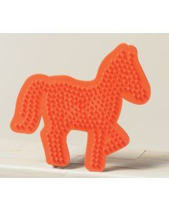 Ses figuurplaat 8,5 x 13,5 cm pony
