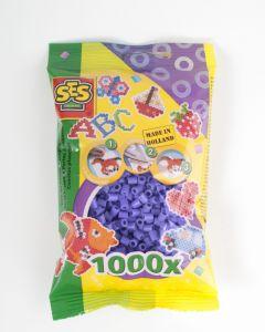 Ses strijkkralen 1000 stuks paars