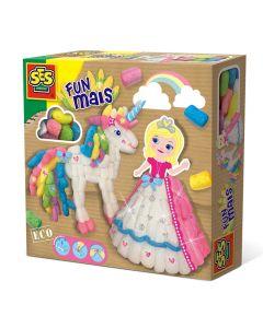 Funmaïs set Prinses en Eenhoorn