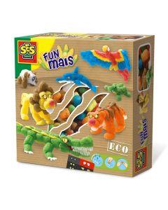 Funmaïs set Safari dieren