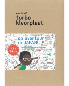 Turbo kleuplaat Japan
