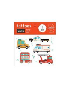 Makii tattoo's auto's