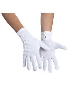 Handschoen ceremoniemeester wit