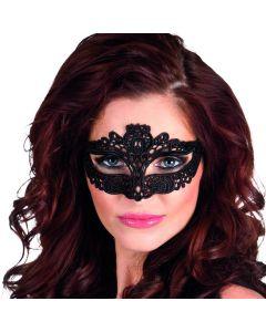 Oogmasker zwarte kant, keuze uit 6 modellen