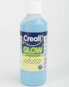 Creall Glow 250 ml lichtgevende verf blauw