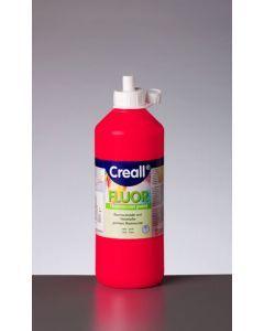 Creall fluorverf 500 ml rood