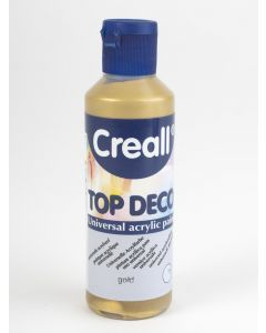 Creall Top Deco acrylverf 80 ml goud