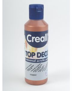 Creall Top Deco acrylverf 80 ml koper