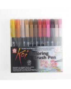 Sakura Koi brushpen set 24 stuks