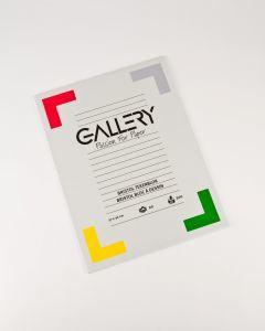 Gallery tekenblok 27 x 36 cm Bristol glad 200 g 20 vel.