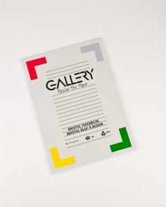 Gallery tekenblok A4 21 x 29,7 cm Bristol 200 g 20 vel.