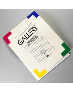 Gallery tekenblok 27 x 36 cm 190 g 20 vellen wit