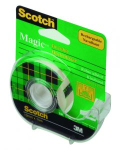 Plakband Scotch Magic 19 mm breed 7,5 m 2 stuks