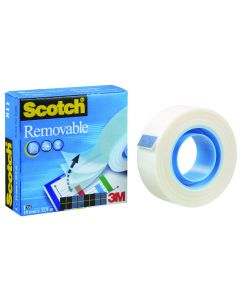 Plakband Scotch Removable 19 mm breed 33 m